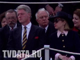 Bill Clinton in Moscow