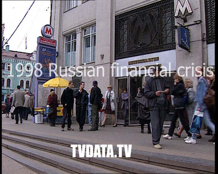 Russian financial crisis Hit Russia on 17 August 1998