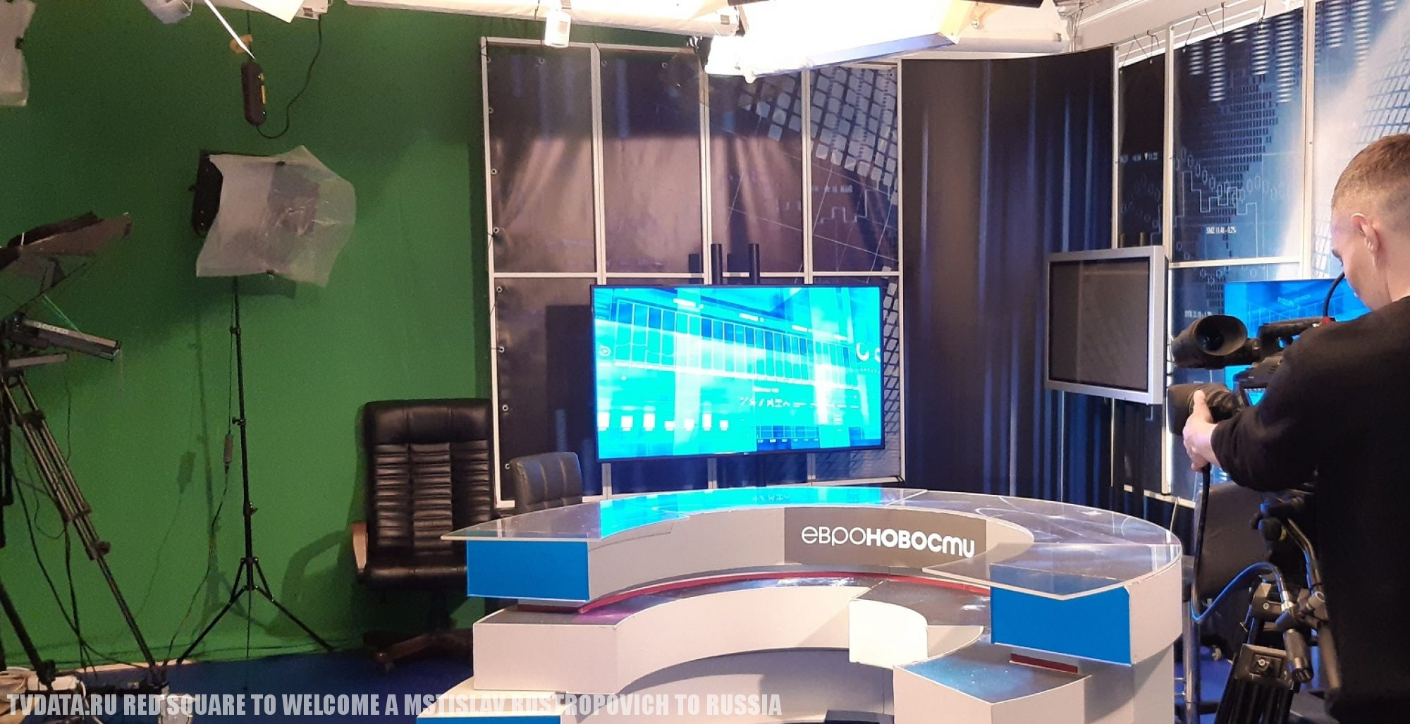 MEDIA in Russia, LIVE STREAMING STUDIO, Camera crew in Moscow