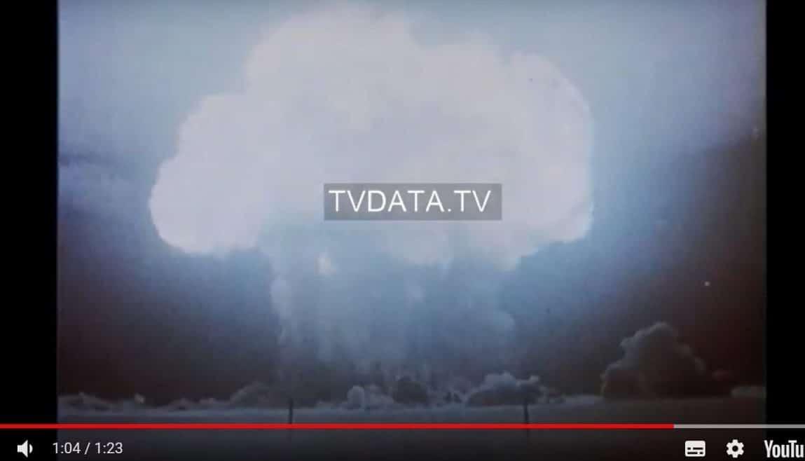 Soviet atomic bomb, 1949 experimental Soviet atomic bomb explosion