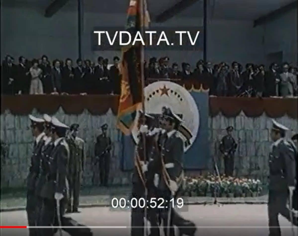 Stock footage featuring Soviet withdrawal Operation TyphoonAhmad Shah Massoud.